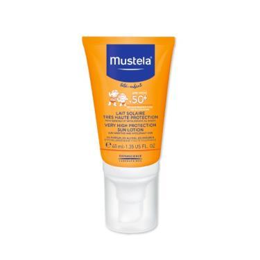 Mustela 慕之恬廊 慕之幼 高效性兒童防曬乳SPF50/40ML