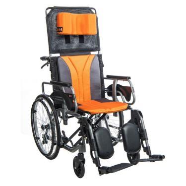 均佳 長照款鋁合金躺式輪椅 骨科腳 升將可拆手 後輪22吋(座寬18吋) JW-020 廠送