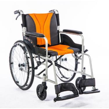 均佳 鋁合金便利型輪椅 固定扶手 背可折 JW-150-F 廠送
