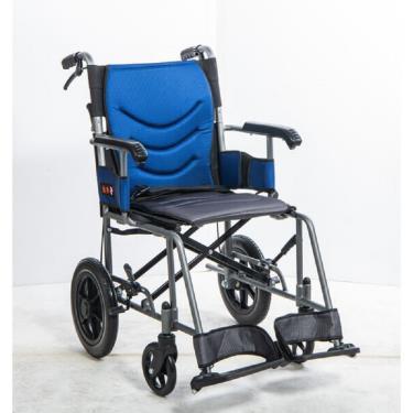 均佳 鋁合金輕量化外出款輪椅 背可折 固定扶手 JW-230-12 廠送