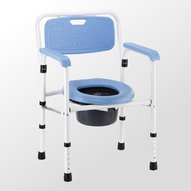 均佳 鐵製硬墊收合便器椅JCS-101 廠送