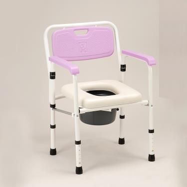 均佳 軟墊收合鐵製便器椅JCS-102 廠送