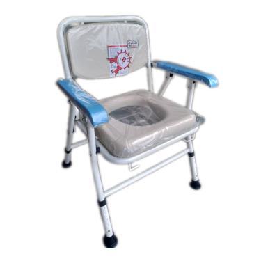 均佳 日式軟墊鐵製收合便器椅JCS-103 廠送