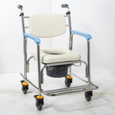 均佳 不銹鋼洗澡便器椅加推手JCS-302 廠送