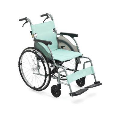 日本MIKI 超輕量系列/鋁合金輪椅/大輪款/CRT-1 廠送