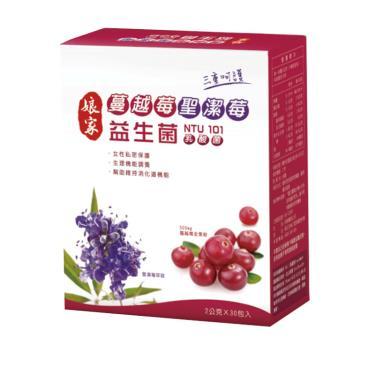 娘家 蔓越莓聖潔莓益生菌30包/盒