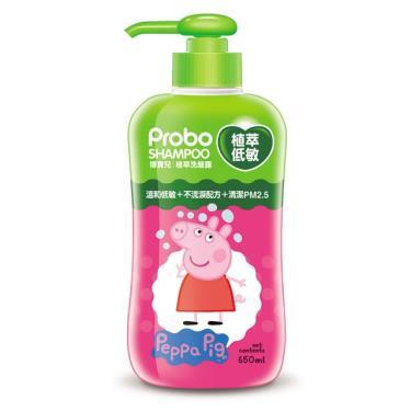 快潔適 博寶兒植萃低敏洗髮露650ml (佩佩豬)