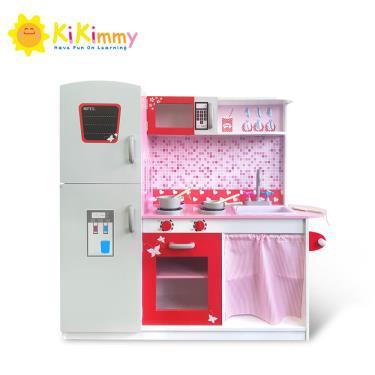 kikimmy 蜜糖時光木製廚房玩具組(廠)
