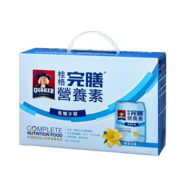 桂格 完膳營養素-香草低糖250mlx8罐(禮盒)