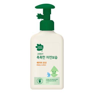 綠手指green finger CHOKCHOK三效保濕嬰幼兒潤膚乳液(0-3歲)320ml