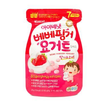 艾唯倪 IVENET 優格豆豆餅乾-草莓(20g/包)