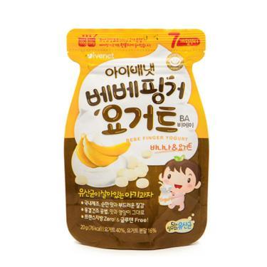 艾唯倪 IVENET 優格豆豆餅乾-香蕉(20g/包)