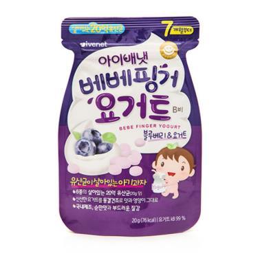 艾唯倪 IVENET 優格豆豆餅乾-藍莓(20g/包)