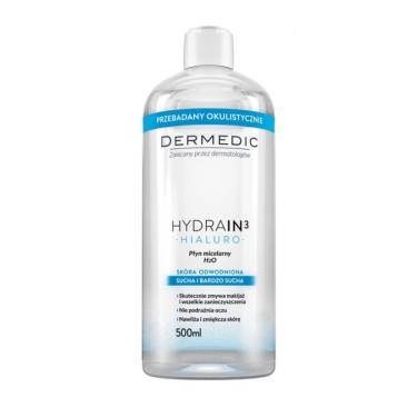 波蘭 得美媞DERMEDIC 玻尿酸超水感潔膚水500ml(廠送)