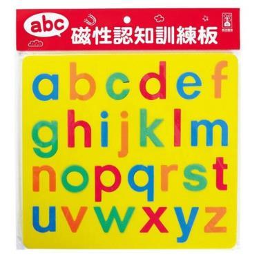 FOOD超人 磁性認知訓練板-abc(小寫字母)