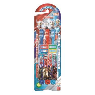 Bandai 鹹蛋超人牙刷3入組