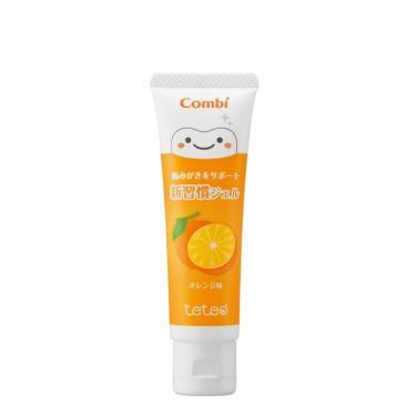 Combi-Teteo幼童含氟牙膏-橘子(16421)