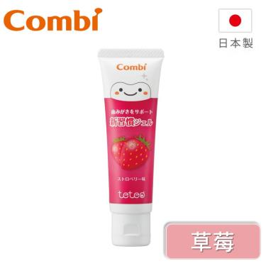 Combi-Teteo幼童含氟牙膏-草莓 (16422)