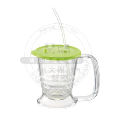 日本Richell利其爾 兩用馬克杯蓋(綠色) 好握取,吸管杯馬克杯兼用