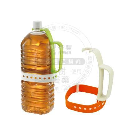 日本Richell利其爾 保特瓶輔助把手(橘色) 適用各種大小保特瓶
