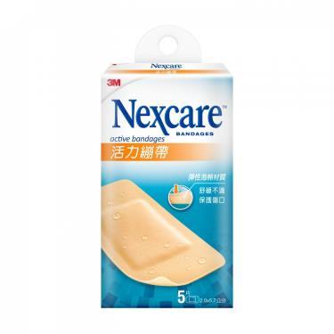 3M Nexcare 活力繃帶-膝蓋與手肘專用 4.7x10cm (5片/盒)