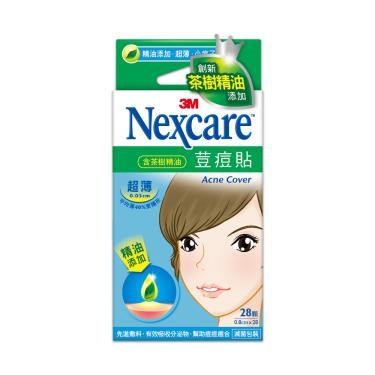 3M Nexcare 茶樹精油荳痘隱形貼-超薄小痘子專用 28顆/入
