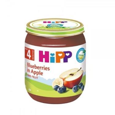 HIPP 喜寶 有機蘋果小藍莓泥125g