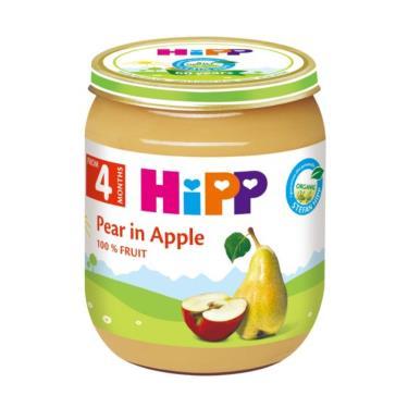 HIPP 喜寶 有機蘋果西洋梨泥125g