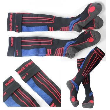 (買2送1)美肌刻Magic 加厚運動半統壓力襪M-L(黑色)JG-345(廠送) 活動加碼至09/30