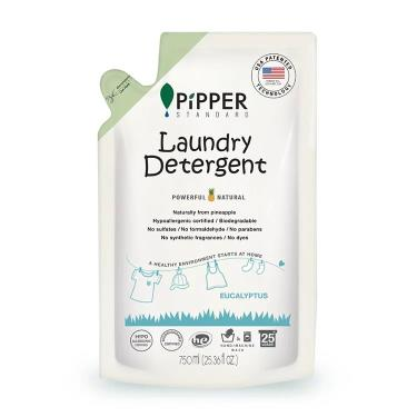 PIPPER STANDARD 鳳梨酵素洗衣精補充包(尤加利) 750ml