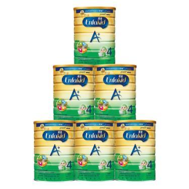 (送置物架)美強生 優童A+兒童營養奶粉 1700gx6罐