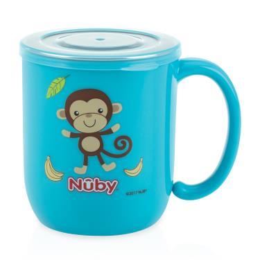 Nuby 不鏽鋼喝水杯(藍)