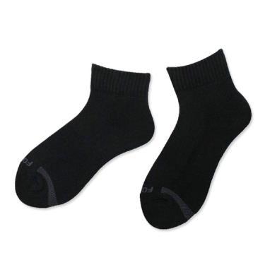 Footer 單色素面運動逆氣流氣墊女襪黑(T91)
