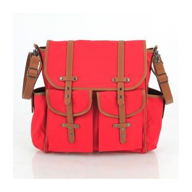【限時特價】艾品 icare多功能多口袋背包 輪椅適用 紅色 廠送