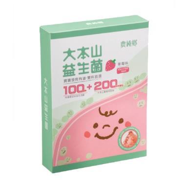 農純鄉 大本山益生菌 草莓口味 (2g*30包/盒)