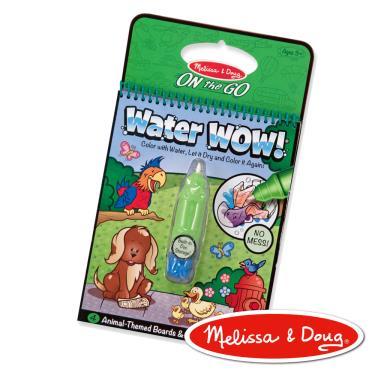 美國瑪莉莎 Melissa & Doug 神奇水畫冊 可愛動物