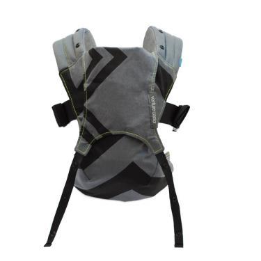 英國 WMM Venture+ 輕旅揹帶 - 大寶寶版-幾何碳灰(廠送)