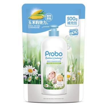 快潔適 博寶兒奶瓶蔬果洗潔精補充包500g