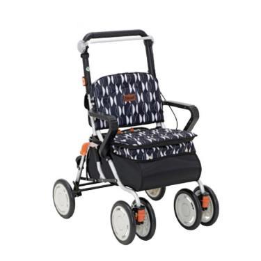 日本幸和TacaoF標準型步行車R127 助行椅 散步車(橘北歐風) 廠送