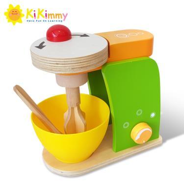 Kikimmy 木製扮家家酒攪拌機-木製玩具-(廠)