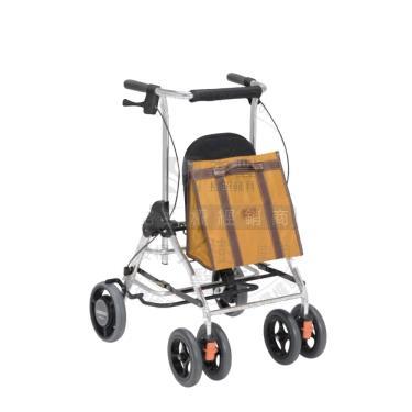 日本幸和TacaoF 休閒托特助行器R型 芥末黃 廠送(後輪內置減速制動器)