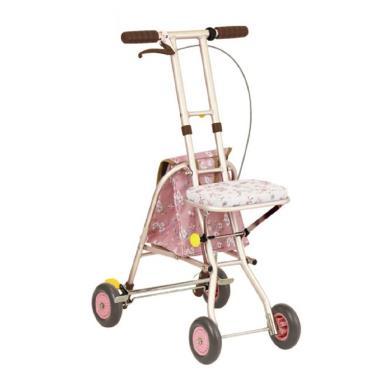 日本幸和TacaoF 標準型步行車SICP01型 花漾粉 廠送