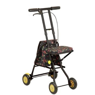 日本幸和TacaoF 標準型步行車SICP01型 花漾黑 廠送