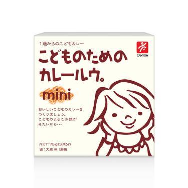 日本CANYON 兒童咖哩塊mini(75g/盒)