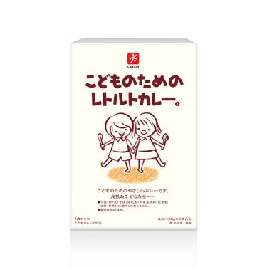 日本CANYON 兒童咖哩調理包(100g*2袋/盒)