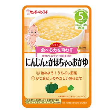 KEWPIE 隨行包胡蘿蔔南瓜粥(80g/包)