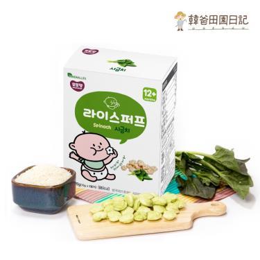 韓爸田園日記 米球餅-菠菜