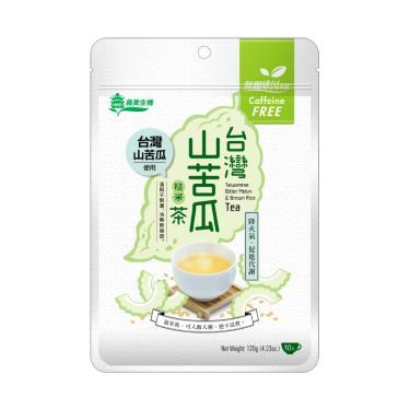 義美生機 台灣山苦瓜糙米茶120g