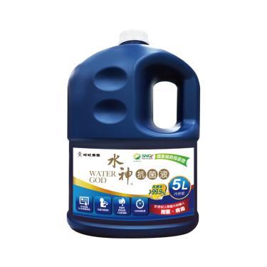 旺旺水神 抗菌液桶裝水5Lx2入組 (廠送)