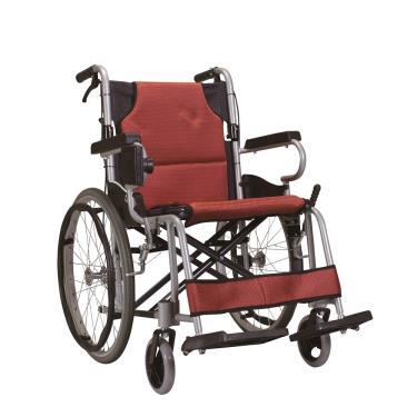 康揚karma 日式輕量型附杯架 KM-2500L 中輪輪椅 輪椅B款補助 (廠送)